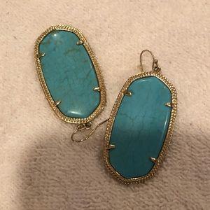 Kendra Scott turquoise Danielle's